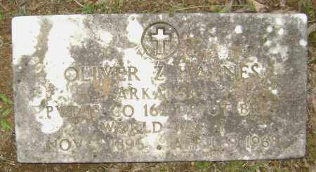 HAYNES (VETERAN WWI), OLIVER Z - Sharp County, Arkansas | OLIVER Z HAYNES (VETERAN WWI) - Arkansas Gravestone Photos
