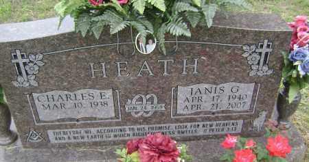 HEATH, JANIS G - Sharp County, Arkansas | JANIS G HEATH - Arkansas Gravestone Photos