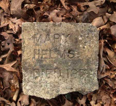 HELMS, MARY JANE - Sharp County, Arkansas | MARY JANE HELMS - Arkansas Gravestone Photos