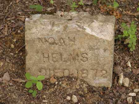 HELMS, NOAH - Sharp County, Arkansas | NOAH HELMS - Arkansas Gravestone Photos
