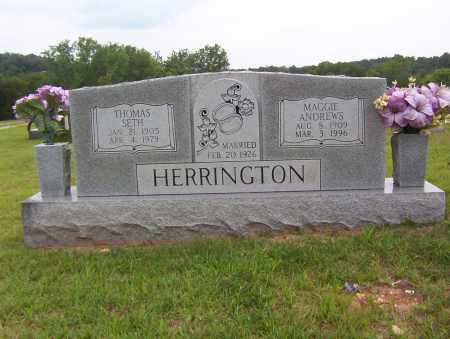 HERRINGTON, MAGGIE - Sharp County, Arkansas | MAGGIE HERRINGTON - Arkansas Gravestone Photos