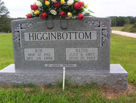 "HIGGINBOTTOM, WOODROW ""ROE"" - Sharp County, Arkansas 
