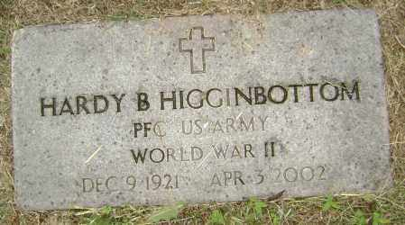 HIGGINBOTTOM (VETERAN WWII), HARDY B - Sharp County, Arkansas | HARDY B HIGGINBOTTOM (VETERAN WWII) - Arkansas Gravestone Photos
