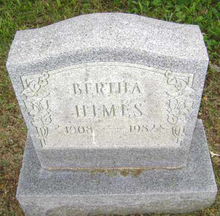 HIMES, BERTHA - Sharp County, Arkansas | BERTHA HIMES - Arkansas Gravestone Photos