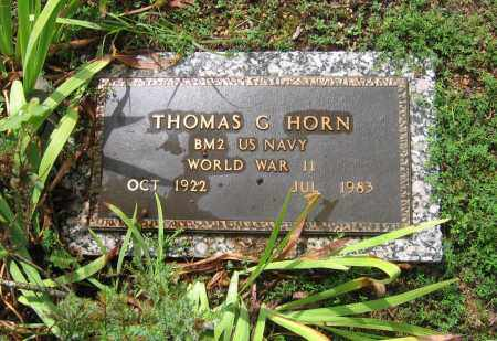HORN  (VETERAN WWII), THOMAS G. - Sharp County, Arkansas | THOMAS G. HORN  (VETERAN WWII) - Arkansas Gravestone Photos