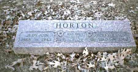 "HOANEY HORTON, JULIA ANN ""JUDY"" - Sharp County, Arkansas 
