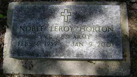 HORTON (VETERAN WWII), NOBLE LEROY - Sharp County, Arkansas | NOBLE LEROY HORTON (VETERAN WWII) - Arkansas Gravestone Photos