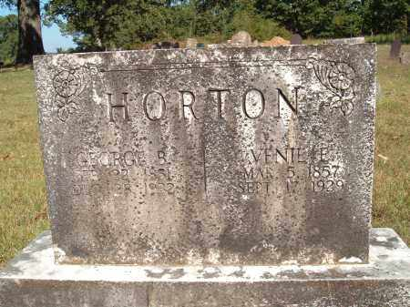 "HORTON, LAVENIA E. ""VENIE"" - Sharp County, Arkansas 
