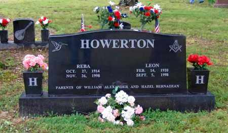 HOWERTON, LEON - Sharp County, Arkansas | LEON HOWERTON - Arkansas Gravestone Photos