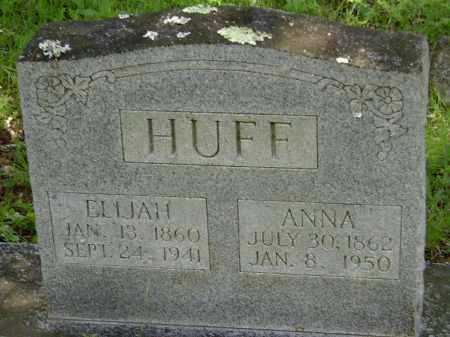 HUFF, ANNA - Sharp County, Arkansas | ANNA HUFF - Arkansas Gravestone Photos