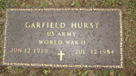 HURST (VETERAN WWII), GARFIELD - Sharp County, Arkansas | GARFIELD HURST (VETERAN WWII) - Arkansas Gravestone Photos