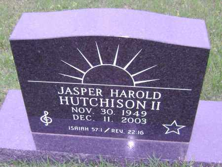 HUTCHISON II, JASPER HAROLD - Sharp County, Arkansas | JASPER HAROLD HUTCHISON II - Arkansas Gravestone Photos