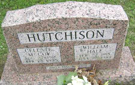 MCCOY HUTCHISON, CELESTE - Sharp County, Arkansas | CELESTE MCCOY HUTCHISON - Arkansas Gravestone Photos