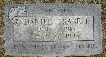 ISABELL, DANIEL - Sharp County, Arkansas | DANIEL ISABELL - Arkansas Gravestone Photos