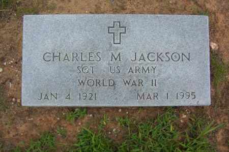 JACKSON  (VETERAN WWII), CHARLES - Sharp County, Arkansas | CHARLES JACKSON  (VETERAN WWII) - Arkansas Gravestone Photos