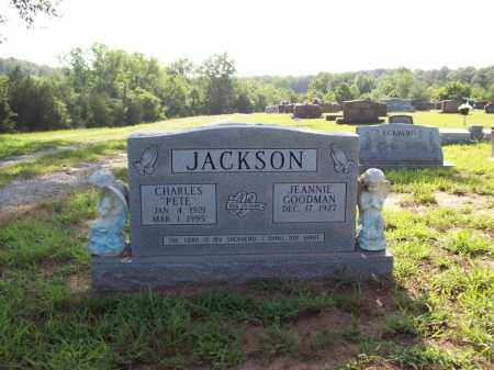 "JACKSON, CHARLES M. ""PETE"" - Sharp County, Arkansas 