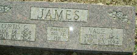 JAMES, CURTIS G. - Sharp County, Arkansas | CURTIS G. JAMES - Arkansas Gravestone Photos