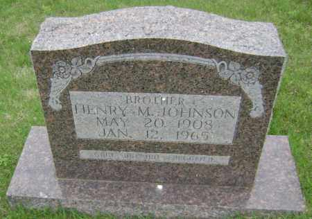 JOHNSON, HENRY M - Sharp County, Arkansas | HENRY M JOHNSON - Arkansas Gravestone Photos