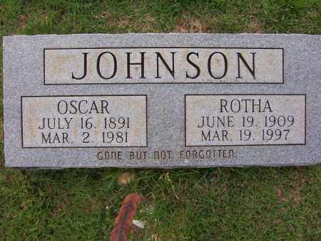JOHNSON, ROTHA - Sharp County, Arkansas | ROTHA JOHNSON - Arkansas Gravestone Photos