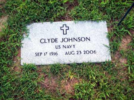 JOHNSON (VETERAN), CLYDE - Sharp County, Arkansas | CLYDE JOHNSON (VETERAN) - Arkansas Gravestone Photos