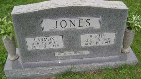 JONES, LARMON - Sharp County, Arkansas | LARMON JONES - Arkansas Gravestone Photos