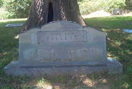 KELLETT, THOMAS EDGAR - Sharp County, Arkansas | THOMAS EDGAR KELLETT - Arkansas Gravestone Photos