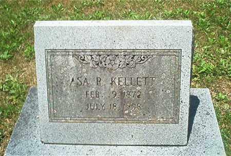 KELLETT, ASA RICHMAN - Sharp County, Arkansas | ASA RICHMAN KELLETT - Arkansas Gravestone Photos