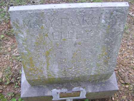 KELLEY, MARY FRANCIS - Sharp County, Arkansas | MARY FRANCIS KELLEY - Arkansas Gravestone Photos