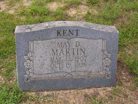 KENT, MAY D. - Sharp County, Arkansas   MAY D. KENT - Arkansas Gravestone Photos