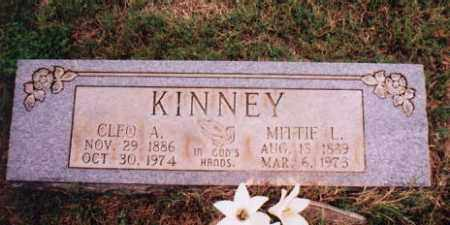 KINNEY, CLEO ALVARADO - Sharp County, Arkansas | CLEO ALVARADO KINNEY - Arkansas Gravestone Photos