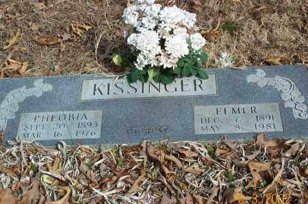 KISSINGER, PHEOBIA LUCINDA - Sharp County, Arkansas | PHEOBIA LUCINDA KISSINGER - Arkansas Gravestone Photos