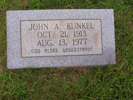 KUNKEL, JOHN A. - Sharp County, Arkansas | JOHN A. KUNKEL - Arkansas Gravestone Photos