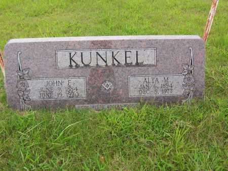 KUNKEL, JOHN EDWARD - Sharp County, Arkansas | JOHN EDWARD KUNKEL - Arkansas Gravestone Photos