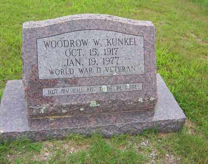 KUNKEL, WOODROW W - Sharp County, Arkansas | WOODROW W KUNKEL - Arkansas Gravestone Photos