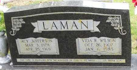"LAMAN, ASA ""ACY"" JEFFERSON - Sharp County, Arkansas 