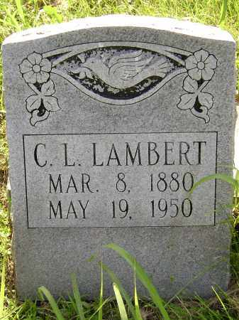 LAMBERT, CALVIN L. - Sharp County, Arkansas | CALVIN L. LAMBERT - Arkansas Gravestone Photos