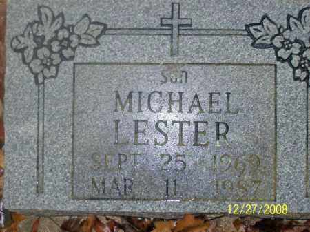 LESTER, MICHEAL - Sharp County, Arkansas | MICHEAL LESTER - Arkansas Gravestone Photos
