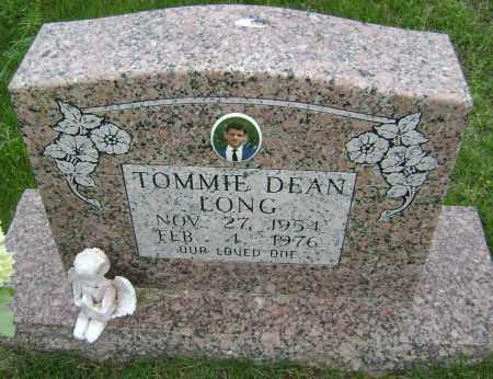 LONG, TOMMIE DEAN - Sharp County, Arkansas   TOMMIE DEAN LONG - Arkansas Gravestone Photos