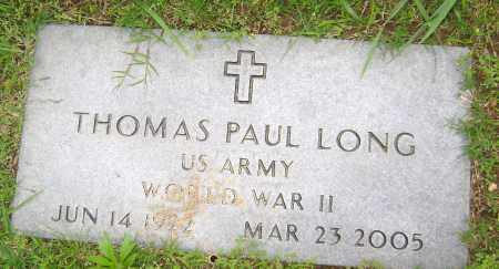 LONG (VETERAN WWII), THOMAS PAUL - Sharp County, Arkansas | THOMAS PAUL LONG (VETERAN WWII) - Arkansas Gravestone Photos