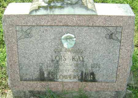 LOWERY, LOIS KAY - Sharp County, Arkansas | LOIS KAY LOWERY - Arkansas Gravestone Photos