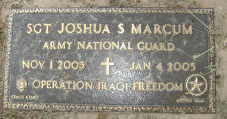 MARCUM (VETERAN IRAQ, KIA), JOSHUA S - Sharp County, Arkansas | JOSHUA S MARCUM (VETERAN IRAQ, KIA) - Arkansas Gravestone Photos