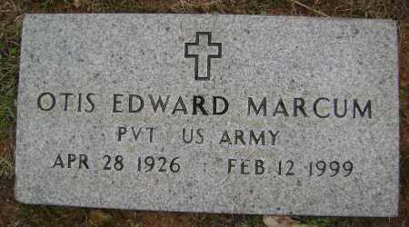 MARCUM (VETERAN WWII), OTIS EDWARD - Sharp County, Arkansas | OTIS EDWARD MARCUM (VETERAN WWII) - Arkansas Gravestone Photos
