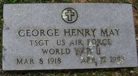 MAY (VETERAN WWII), GEORGE HENRY - Sharp County, Arkansas | GEORGE HENRY MAY (VETERAN WWII) - Arkansas Gravestone Photos