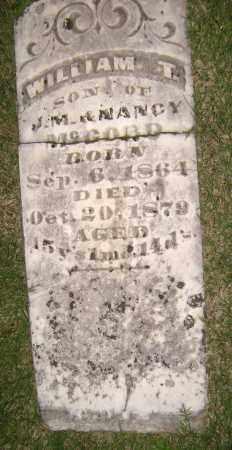 MCCORD, WILLIAM T - Sharp County, Arkansas | WILLIAM T MCCORD - Arkansas Gravestone Photos