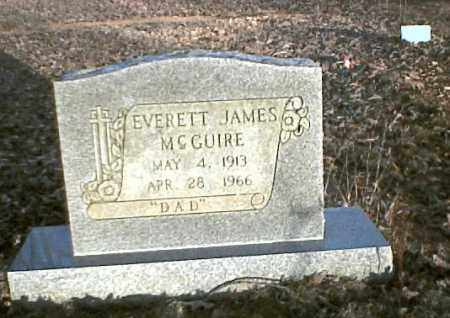 MCGUIRE, EVERETTE JAMES - Sharp County, Arkansas | EVERETTE JAMES MCGUIRE - Arkansas Gravestone Photos