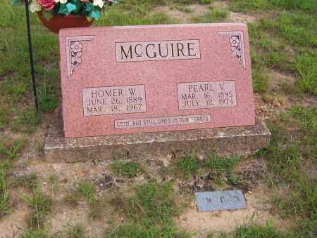 MCGUIRE, PEARL V. - Sharp County, Arkansas | PEARL V. MCGUIRE - Arkansas Gravestone Photos