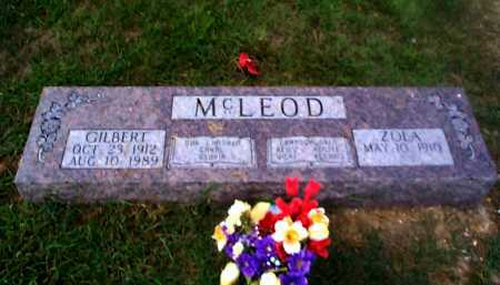 MCLEOD, GILBERT H. - Sharp County, Arkansas | GILBERT H. MCLEOD - Arkansas Gravestone Photos