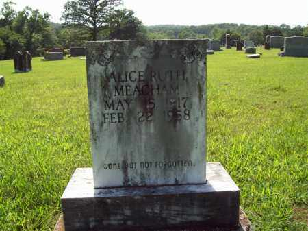 MEACHAM, ALICE RUTH - Sharp County, Arkansas | ALICE RUTH MEACHAM - Arkansas Gravestone Photos