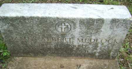 MEDLOCK (VETERAN WWII), JAMES ALBERT - Sharp County, Arkansas | JAMES ALBERT MEDLOCK (VETERAN WWII) - Arkansas Gravestone Photos