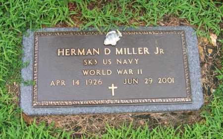 MILLER, JR (VETERAN WWII), HERMAN D. - Sharp County, Arkansas   HERMAN D. MILLER, JR (VETERAN WWII) - Arkansas Gravestone Photos